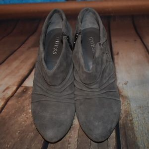 Guess Shoes - Guess Suede Booties